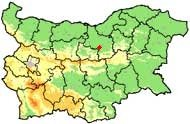 Map of Veliko Turnovo