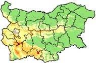 Map of Manastir